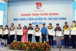 TP Hồ Chí Minh tuyên dương 21 điển hình 'Học sinh 3 rèn luyện' năm 2018
