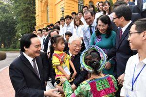 Chủ tịch nước đánh giá tích cực về giáo dục, Quốc hội quan tâm đến chương trình, giáo viên