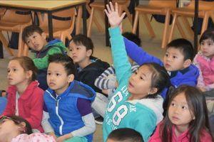 Úc dạy tiếng Việt cho trẻ mẫu giáo