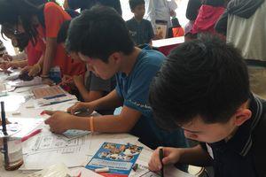 Học sinh say mê 'giải mã thế giới hỗn độn' bằng toán học