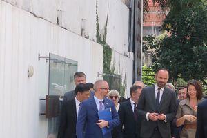 Thủ tướng Pháp dự khai trương Trung tâm y tế Pháp - Việt