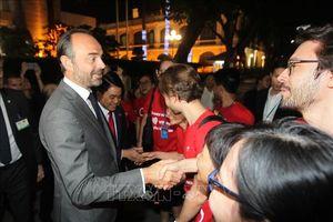 Thủ tướng Édouard Philippe dự lễ khai trương Trung tâm Y tế Pháp tại TP Hồ Chí Minh