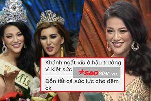 Độc quyền: Vừa đăng quang Miss Earth 2018, Phương Khánh bất ngờ ngất xỉu trong hậu trường