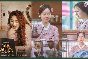 'Mẹ-con' Moon Chae Won và Mina (Gugudan) nói gì về nhau trong 'Mama Fairy and the Woodcutter'?