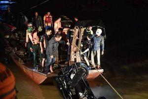 Danh tính người phụ nữ tử vong trong xe Mercedes lao xuống sông Hồng