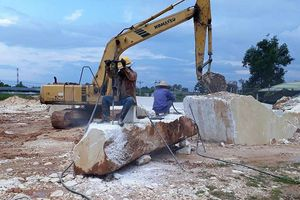 Nghệ An: Xử phạt hơn 1,4 tỷ đồng về khoáng sản