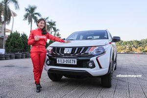 Leona Chin - cô gái vừa drift xe Mitsubishi Triton tại Mỹ Đình là ai ?