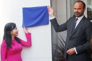 Thủ tướng Pháp tham dự khai trương Trung tâm y tế Pháp tại TP.HCM