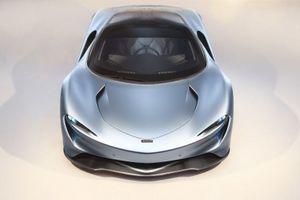 Lần đầu ngắm siêu phẩm McLaren Speedtail di chuyển