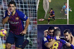 Ghi 2 bàn trong 3 phút cuối, Barca thắng nghẹt thở Rayo Vallecano