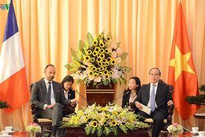 Bí thư Thành ủy TPHCM Nguyễn Thiện Nhân hội kiến Thủ tướng Pháp