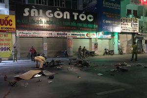 Hai xe máy đối đầu trong đêm ở TP.HCM: 3 người thương vong