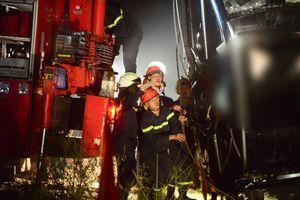 Đã xác định được danh tính nạn nhân vụ rơi xe tại cầu Chương Dương