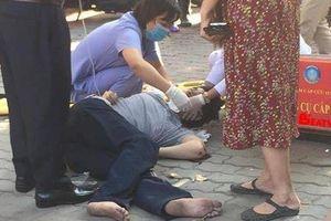 Hà Nội: Nam thanh niên thoát chết sau khi rơi từ tầng 5 trúng yên xe máy