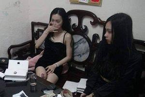 2 thiếu nữ trẻ đẹp bị bắt vì tàng trữ ma túy trái phép
