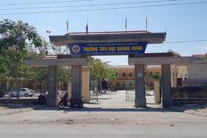 Cảnh cáo nữ hiệu trưởng lập hồ sơ khống xây phòng học