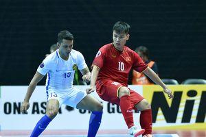 Đội futsal Việt Nam thắng 9-0 trong trận ra quân tại giải Đông Nam Á