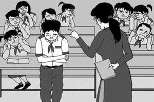 Cô giáo ở Sài Gòn bắt học sinh tự tát 32 cái vì nói chuyện riêng