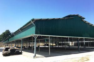 Vụ cháy chợ tại huyện Sóc Sơn: Ngang nhiên dựng chợ trái phép