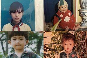 Khán giả thích thú với bộ ảnh thời thơ ấu của dàn diễn viên 'Quỳnh búp bê'