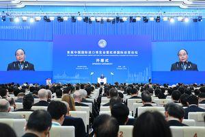 Thủ tướng dự Lễ khai mạc Hội chợ CIIE và Diễn đàn kinh tế thương mại quốc tế Hồng Kiều