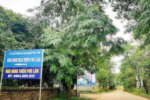 Nóng bỏng vi phạm đất đai ở Sóc Sơn -Bài 3: Villa, khu sinh thái nằm ngay rừng phòng hộ Minh Phú