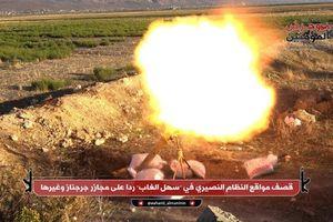 Khủng bố thân al-Qaeda pháo kích dữ dội Quân đội Syria tại Hama