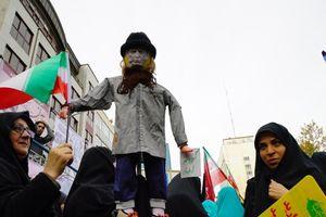 Iran biểu tình chống lệnh trừng phạt mới của Mỹ