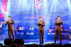 Chung kết Cuộc thi 'Tiếng hát hữu nghị Việt - Trung 2018' tại Việt Nam