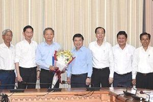 Chấp thuận cho PCT UBND TP.HCM Lê Văn Khoa nghỉ việc