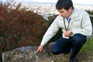 Phát hiện dòng chữ phá hoại khắc trên thành cổ Yonago ở Nhật, nghi do người Việt viết