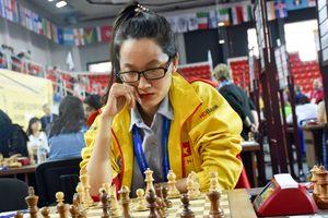 Võ Thị Kim Phụng dừng bước ở giải vô địch cờ vua nữ thế giới