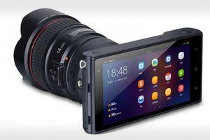Máy ảnh không gương lật chạy Android, lắp ống kính Canon