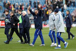 HLV Sarri đang 'hồi sinh' Chelsea