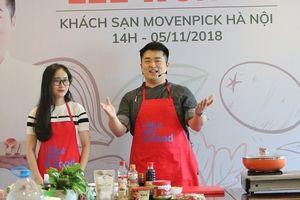 Quảng bá tinh hoa của ẩm thực Hàn Quốc tới người dân Việt Nam