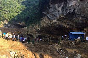 Sập hầm đào vàng trái phép ở Hòa Bình, 2 người mất tích
