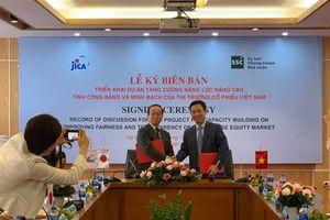 Jica hỗ trợ phát triển thị trường chứng khoán Việt Nam