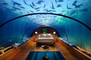 Khách sạn hạng sang nằm sâu dưới biển vừa mở cửa