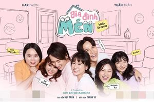 Hari Won cùng 2 cô em gái ruột của mình và Trấn Thành tạo thành 'Gia đình Mén'
