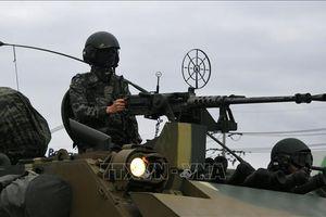 Hàn Quốc và Mỹ nối lại tập trận quân sự cấp tiểu đoàn kéo dài hai tuần