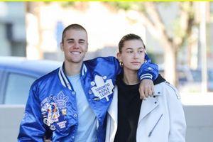 Lột xác đẹp trai hơn, Justin Bieber tươi tắn hết cỡ khi hẹn hò bà xã Hailey Baldwin trên phố