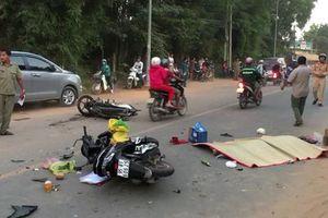 Hai xe máy tông nhau trực diện, 2 người tử vong