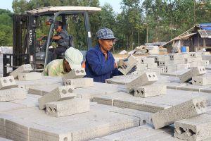 Yên Bái: Đẩy mạnh sản xuất gạch không nung để bảo vệ môi trường