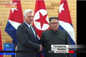 Lãnh đạo Cuba và Triều Tiên khẳng định tinh thần đoàn kết giữa hai nước