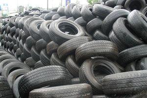 Hải quan TP.HCM đề xuất thanh lí 450 tấn lốp xe ô tô cũ