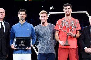 Không vô địch Paris Masters, Novak Djokovic vẫn là số 1 thế giới