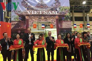 Quảng bá văn hóa, du lịch Việt Nam tại hội chợ Grenoble, Pháp