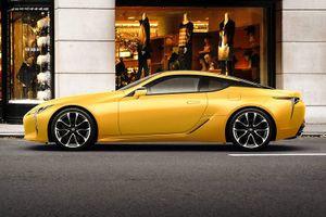 Lexus ra mắt phiên bản giới hạn LC Lustre Yellow tại Nhật Bản