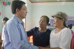 Lãnh đạo tỉnh Bình Định đối thoại với dân vùng Dự án điện mặt trời