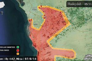 Liên minh Saudi 'tiễn' phiến quân Houthi ra khỏi tỉnh Hodeidah, tây Yemen